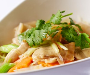 Flash Wok Fried B.C. Geoduck by Chef Raymond Cheung