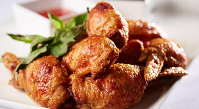 亞伯特省豬肉釀雞翼. 張興保