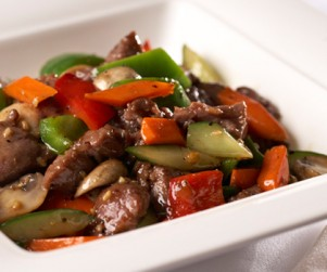 Sautéed Alberta Beef Tenderloin Cubes with Honey and Pepper by Chef Leung Pong Wing