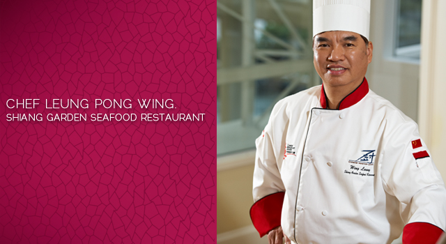 Minced B.C. Salmon Wrap in Beijing-Style by Chef Leung Pong Wing