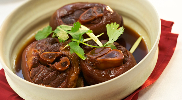 Taiwanese Style Braised Alberta Ham Hock by Chef Leung Pong Wing