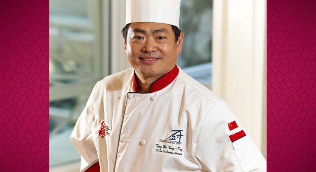 Chef Tony Wu, Tin Tin Seafood Harbour, Richmond