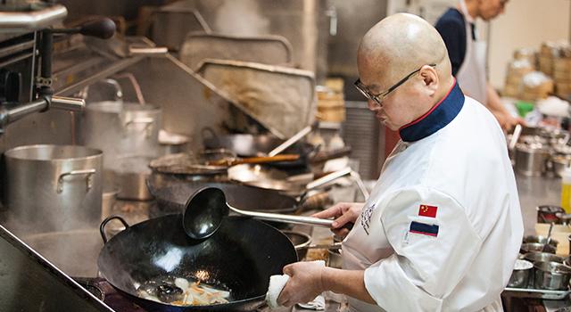 Executive Chef Sam Leung, Dynasty Seafood Restaurant, Vancouver