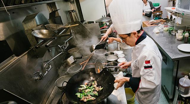 Executive Chef Leung Yiu Tong, Hoi Tong Chinese Seafood Restaurant, Richmond